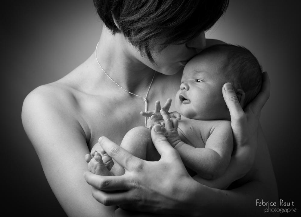 Lylia et maman
