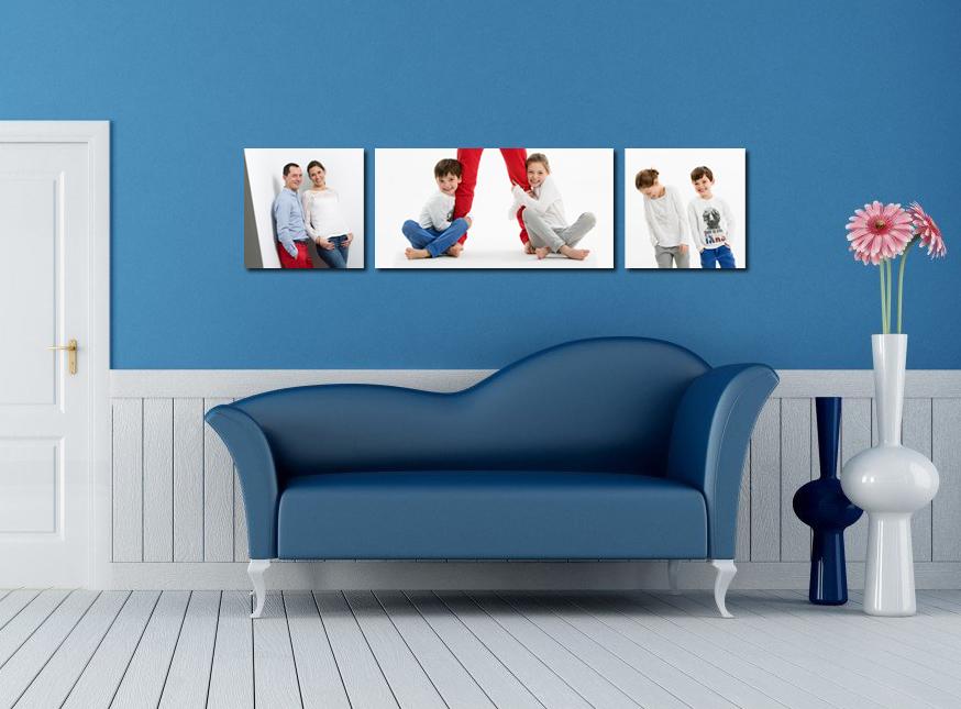 interieur-design-bleu-blanc_ 1 40x60 + 2 40x40