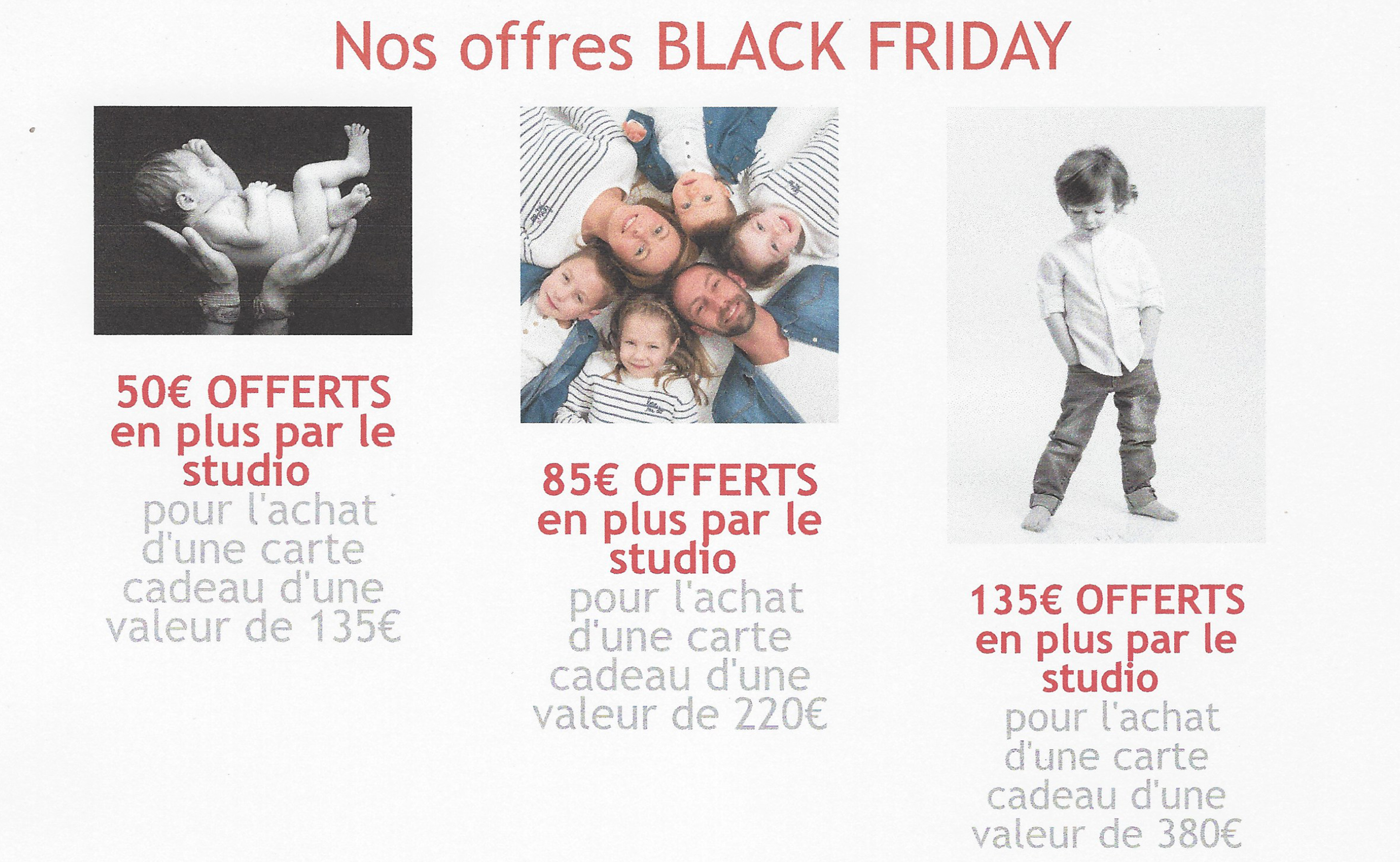 Black friday, portrait, carte cadeau