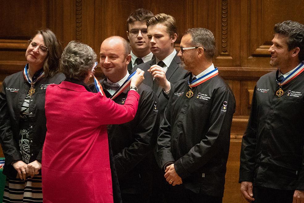 Remise Médaille MOF Sorbonne