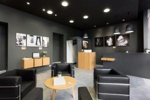 Salon d'accueil et studio photos identités